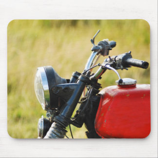old motor mouse pad