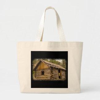 Old Mountain Cabin Jumbo Tote Bag