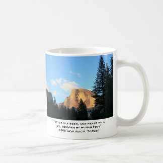 Old Mountains, old quotes Classic White Coffee Mug
