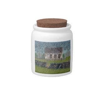 Old Mountville Church Candy Jars