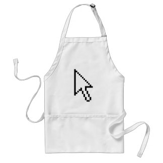 Old Mouse Pointer Adult Apron