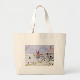 Old Mousehole 1993 Large Tote Bag