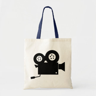 OLD MOVIE CAMERA Budget Tote Bag