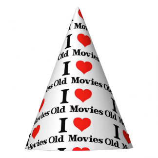 Old Movies Party Hat