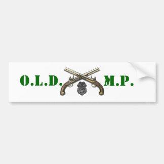 Old MP Car Bumper Sticker
