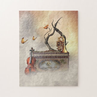 Old Music Instruments Puzzle
