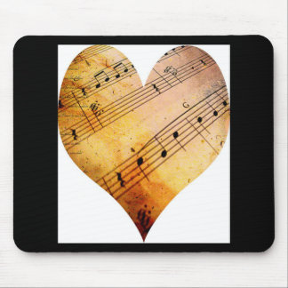 old music mouse pad