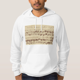 Old Music Notes - Bach Music Sheet Hoodie