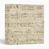 Old Music Notes - Chopin Music Sheet