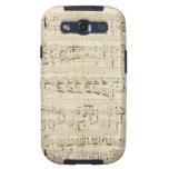 Old Music Notes - Chopin Music Sheet Samsung Galaxy S3 Cover