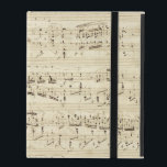 "Old Music Notes - Chopin Music Sheet iPad Cover<br><div class=""desc"">Old music sheet of Frederic Chopin. Original musical notation of this famous classical composer.</div>"