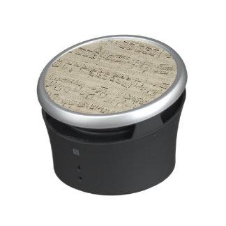 Old Music Notes - Chopin Music Sheet Bluetooth Speaker