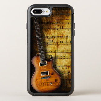 Old Music Sheet Guitar OtterBox Symmetry iPhone 7 Plus Case