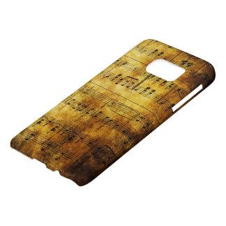 Old Music Sheet Samsung Galaxy S7 Case
