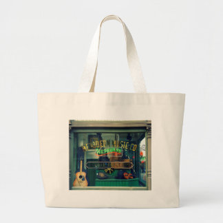 Old Music Store Large Tote Bag