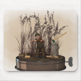 Old Musician Fae 4 Mousepads