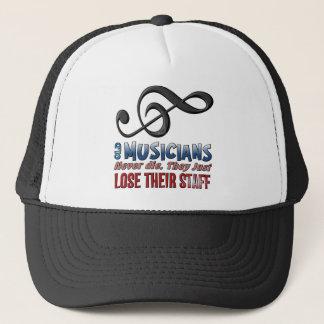 Old Musicians Staff Epitaph Trucker Hat