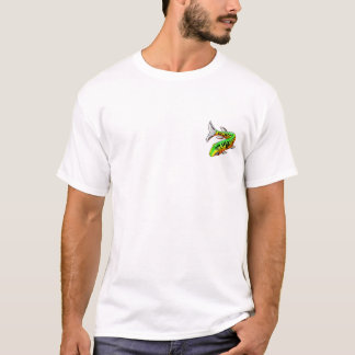 Old Muskie Wanted White w/Front Pckt Design T-Shirt
