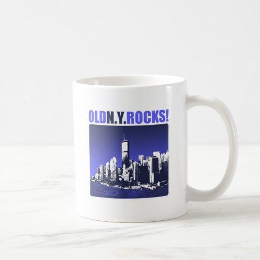 Old N.Y. Rocks! Classic White Coffee Mug