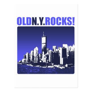 Old N.Y. Rocks! Postcard