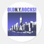 Old N.Y. Rocks! Stickers