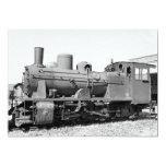 Old narrow-gauge steam engine 157-5674 card