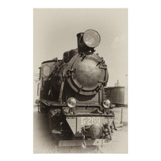 Old narrow-gauge steam engine Gr-269 Stationery