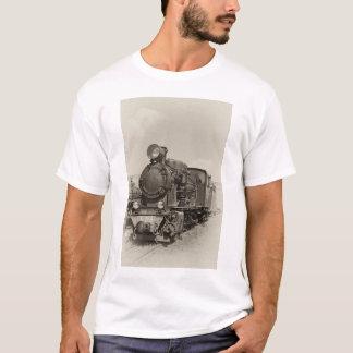 Old narrow-gauge steam engine Gr-269 T-Shirt