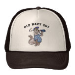 Old Navy Guy T-Shirt Trucker Hat