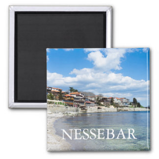 Old Nessebar. Bulgaria 2 Inch Square Magnet
