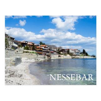 Old Nessebar. Bulgaria Postcard