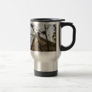 Old & New, Birds Nest & Farmhouse 15 Oz Stainless Steel Travel Mug