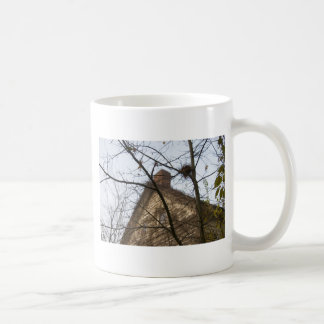 Old & New, Birds Nest & Farmhouse Coffee Mug