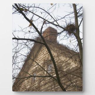Old & New, Birds Nest & Farmhouse Plaque