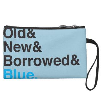 Old, New, Borrowed, Blue Clutch