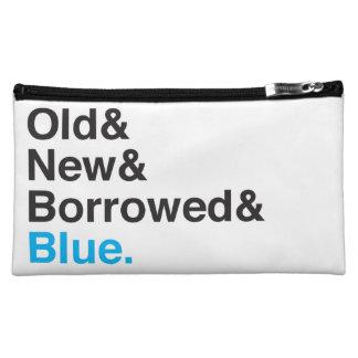 Old, New, Borrowed, Blue Travel Bag