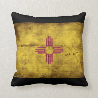 Old New Mexico Flag; Pillow