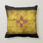 Old New Mexico Flag; Pillows