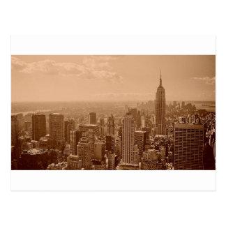 Old New York City Photograph Postcard