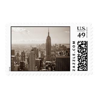 Old New York City Postage