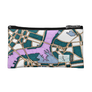 Old New York City, United States Cosmetic Bag