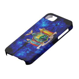 Old New York Flag; iPhone 5 Case