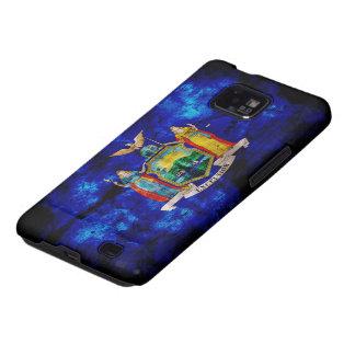 Old New York Flag; Samsung Galaxy SII Cover