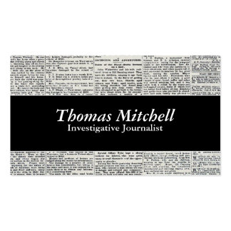 Old News Double-Sided Standard Business Cards (Pack Of 100)