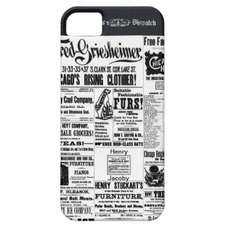 Old Newspaper Ads Times Dispatch iPhone 5 Case