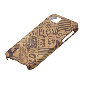 OLD NEWSPAPER iPhone 5 Case-Mate CÁRCASAS
