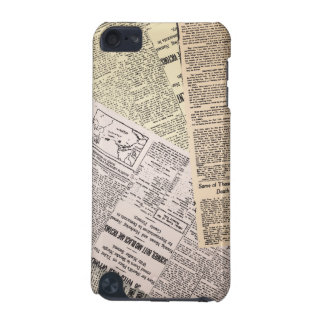 Old Newspaper Reporter iPod Touch  5 Case iPod Touch 5G Cover