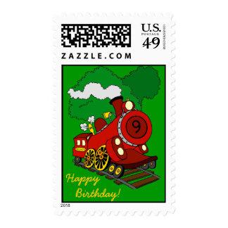 Old No.9 Stamp