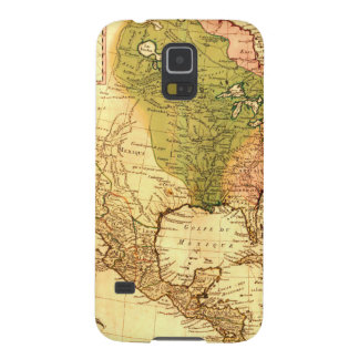 Old North American  Map Galaxy S5 Case