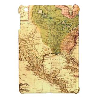 Old North American  Map iPad Mini Cases